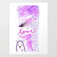 ... ♥ ... Art Print