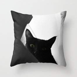 Loko's Dark Intentions: You Are Beneath Me Throw Pillow