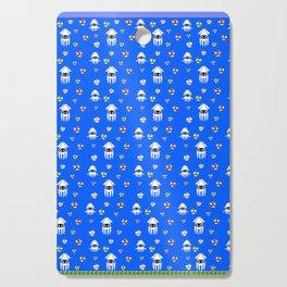Water Level Sprites | Super Mario Pattern Cutting Board