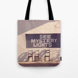 See Mystery Lights - Marfa, Texas Tote Bag