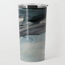 minimal brushstrokes 3 Travel Mug
