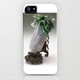 The Jadeite Cabbage iPhone Case