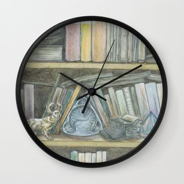 RHX Bookshelf Logo Wall Clock