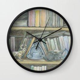 RHX Bookshelf Logo Wall Clock