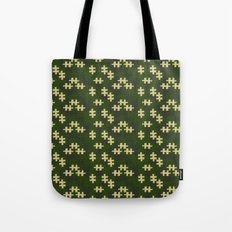chameleon puzzle Tote Bag