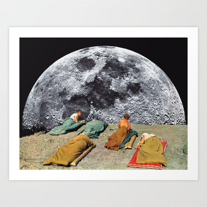 CAMPGROUND by Beth Hoeckel Kunstdrucke