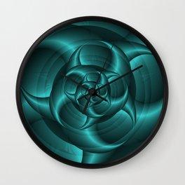 Spiral Pincers Wall Clock
