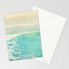 beach ocean wave. Surge. Hermosa Beach photograph Stationery Cards