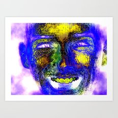Smile for the Camera Art Print
