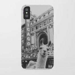 Chicago Llama iPhone Case