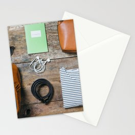 Get ready for the trip. Woman edition Stationery Cards