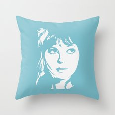 a. karina Throw Pillow
