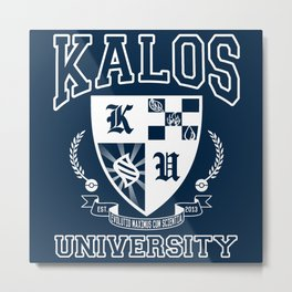 Kalos University Metal Print