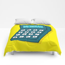 Mr Buttons Comforters
