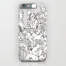 Coffee Scene Slim Case iPhone 6s