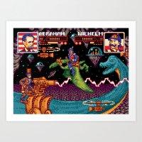 Jurassic President, Episode 16 – High Score and Seven Years Ago Art Print