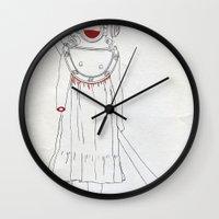 scuba Wall Clocks featuring Scuba by Serga