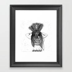 Circus Dancer Framed Art Print