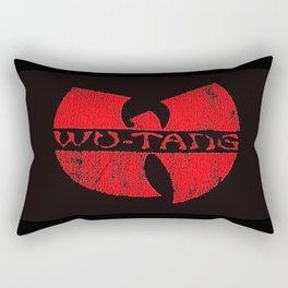 wu-tang red deep Rectangular Pillow