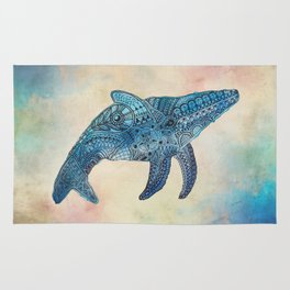 Baby Whale Rug