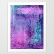 Purple Haze Background Art Print