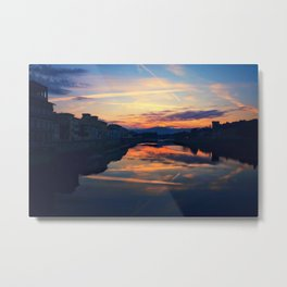 Sunrise in Florence Metal Print