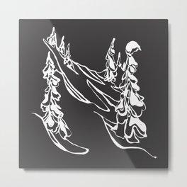 Ghost Trees : I Metal Print