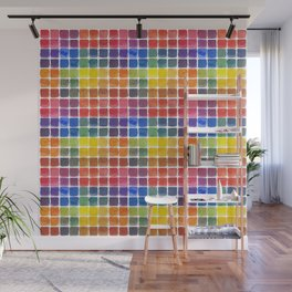 Mix it Up! - Watercolor Mixing Chart Wall Mural