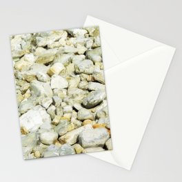 stone texture Stationery Cards