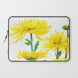 Yellow Chrysanthemums Laptop Sleeve