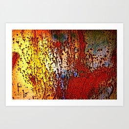 Rust is a Must Art Print