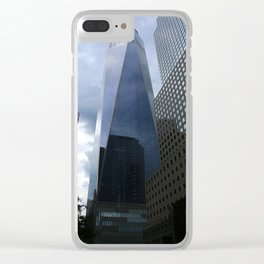 One World Trade Center View Clear iPhone Case