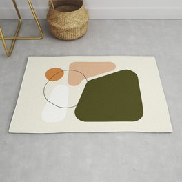 Nectar 03 || Abstract Painting Rug
