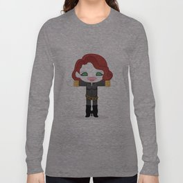 BLACK WIDOW ROBOTIC Long Sleeve T-shirt