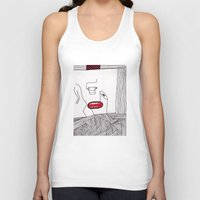 toilet Tank Tops featuring toilet by DAMlab