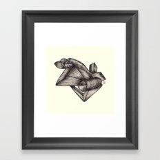 Paperoll Framed Art Print