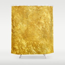 Golden Texture #lifestyle #society6 Shower Curtain