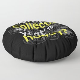 Stamp Collector Hobby Floor Pillow