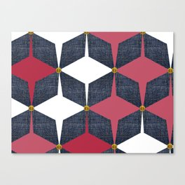 KALEIDOSCOPE 01 #HARLEQUIN Canvas Print