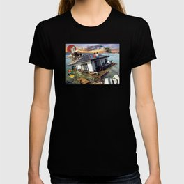 Beyond the Sea - Spirited Away / Ponyo Tsunami Series T-shirt