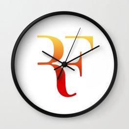 perfect logo Wall Clock