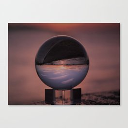 Wispy Clouds In A Crystal Ball Canvas Print
