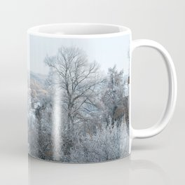 Winter landscape of village Coffee Mug
