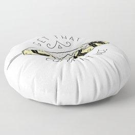 Get That Corn Outta My Face Floor Pillow