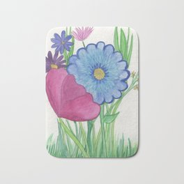 Flowers for you Bath Mat