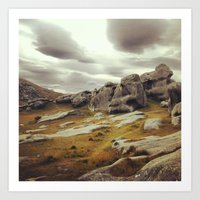 new zealand Art Prints featuring New Zealand  by ES13