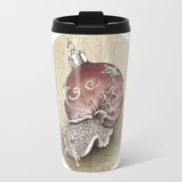 In which a snail is most festive this christmas  Travel Mug