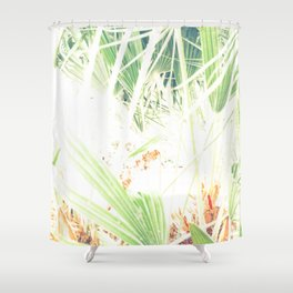 Las palmeras Shower Curtain