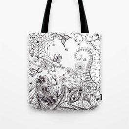 Garden Doodle 2 Tote Bag