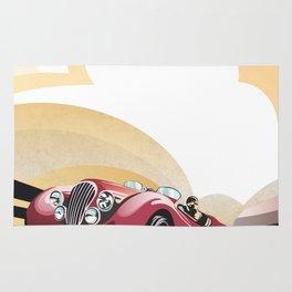 Jaguar XK 120 Rug